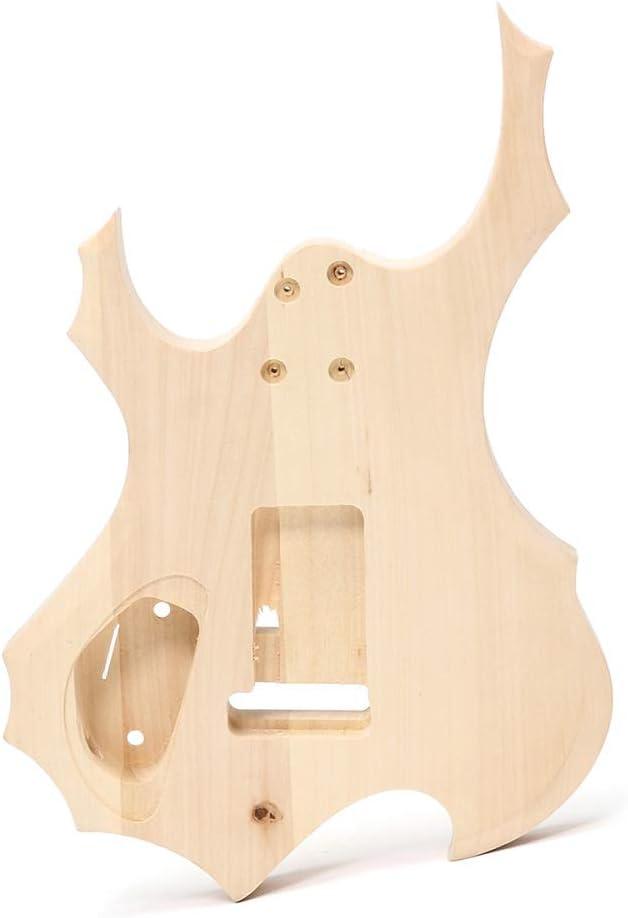 ERCZYO Kit de bricolaje para guitarra eléctrica de bricolaje con ...