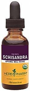 Herb Pharm Certified Organic Schisandra Berry Extract - 1 Ounce