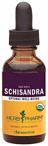 Schizandra Fruit (Herb Pharm Certified Organic Schisandra Berry Extract - 1 Ounce)