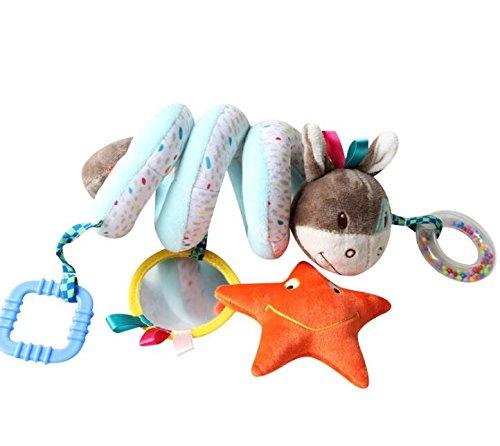 Achun Cochecito de bebé Actividad Juguete Juguete Suave Juguete Colgante Cochecito de Juguete en Espiral