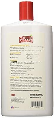Nature's Miracle Supreme Oatmeal Odor Control Shampoo & conditioner honey saga, 32 oz