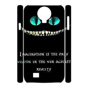 Custom 3D Case for samsung galaxy s4 i9500 w/ We're All Mad Here image at Hmh-xase (style 3)