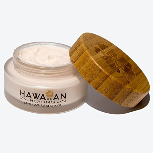 Hawaiian Healing Skin Care Anti-Aging & Hydrating Face Cream with Organic Hawaiian Macadamia Flower Honey and Hawaiian Astaxanthin to Reduce Appearance of Wrinkles & Fine Lines (100 gram)