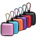 Best Earbud Cases - SUNMNS 6 Pieces Headphone Case Earphone Storage Bags Review