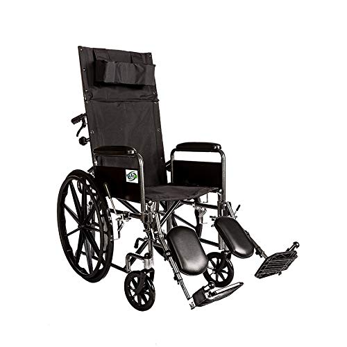Healthline Trading Recliner Full Arm Detachable Padded Flip Back with ELR
