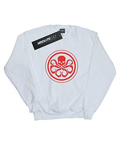 Marvel Camisa De Entrenamiento Blanco Logo Mujer Hydra rPUtqFr