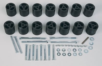 Performance Accessories, Nissan Frontier 4WD (Includes 2000 2WD) 3″ Body Lift Kit, fits 1998 to 2000, PA4083, Made in America