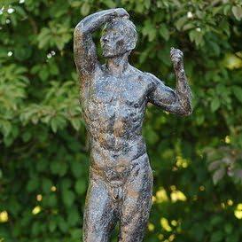 Jardín sueño puede Estatua de bronce – El de Mera Muñeco de Rodin, bronce: Amazon.es: Jardín