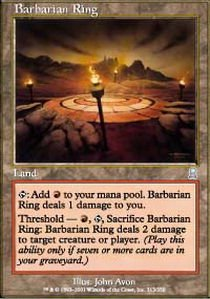 Magic: the Gathering - Barbarian Ring - Odyssey