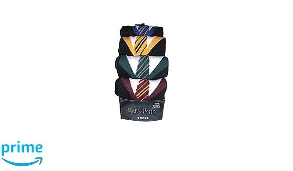 Primark Harry Potter Casa Uniforme Calcetines Paquete de 4 Gryffindor Ravenclaw Hufflepuff Slytherin: Amazon.es: Ropa y accesorios