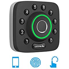 Ultraloq U-Bolt Pro is a secure and versatile smart deadbolt that offers 6-in-1 keyless entry to your home. You can share temporary codes and Ekeys to your friends and guests for scheduled access.