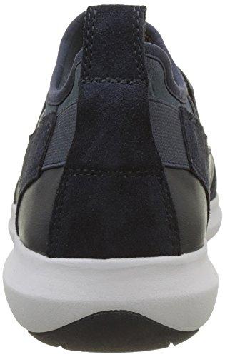 Geox U Traccia a, Zapatillas para Hombre Azul (Navy)