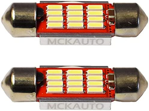 MCK Auto - Reemplazo para LED CanBus de 36 mm Conjunto de ...