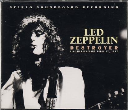 """LED ZEPPELIN – """" Destroyer Bootleg Live In Cleveland """" April 27th"""