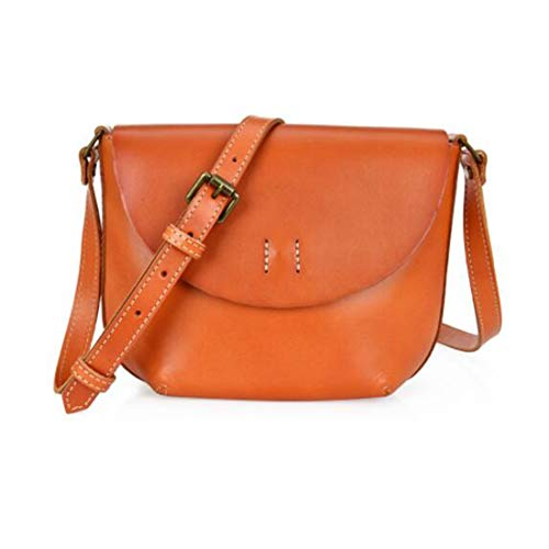 In Brown color A Beige Spalla Pelle Magai Vera Borsa Red Per Tracolla Donna 77Ywz