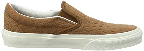 on Adulte Mixte Slip Suede braided Baskets Classic Marron dachshund Basses Vans YwOEpnq