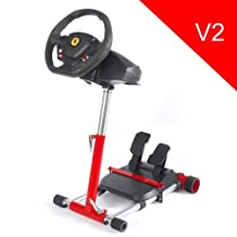 Racing Steering Wheelstand for Original Thrustmaster F458 (Xbox 360 Version), F458 Spider (Xbox One), T80, T100, RGT, Ferrari GT and F430; Original Wheel Stand Pro V2 Stand: Wheel/Pedals Not included