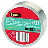 3M 3311-50A 2'' X 50 Yards Scotch® Aluminum Foil Tape