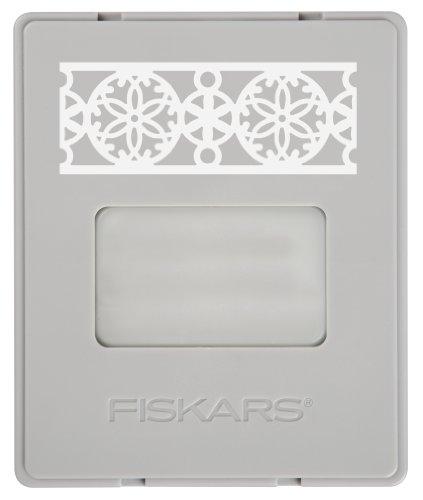 Fiskars Sand Dollar AdvantEdge Border Punch, Large Cartridge (101790-1001) (Sand Dollar Paper Punch)