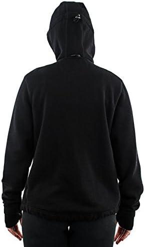 WoolX Women/'s Merino Wool Sweatshirt Full Zip Hooded Wool Hoodie The Cubby