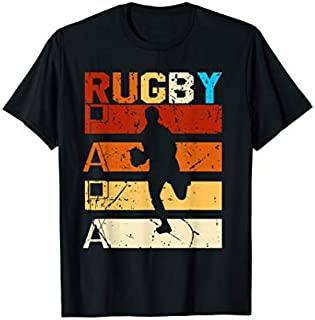 Rugby papa shirt rugby dad gift tee for rugby player T-shirt | Size S - 5XL