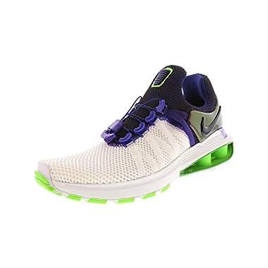 innovative design 2cb6f 3c77a Nike Shox Gravity Running Shoe - 8M - White Fusion Violet - White