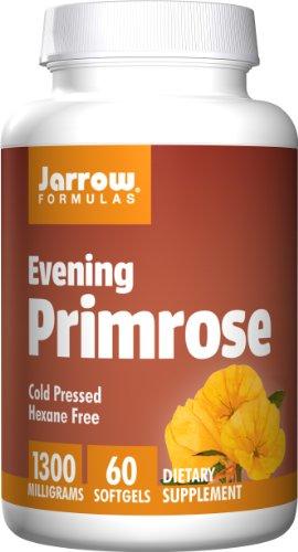 Jarrow Formulas Evening Primrose, Supports Women's Health, 1300 Mg, 60 Softgels