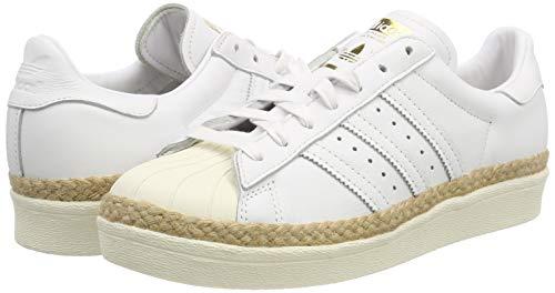 De casbla Adidas Superstar ftwbla Chaussures New Blanc 80s 000 ftwbla Fitness Femme W Bold qF7Ygq