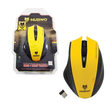 NUBWO Wireless Marathon Mouse NM-09 Battery Life, Tunable Gaming Mouse,PC Mac Computer (Ps4 Hardrive 1tb)