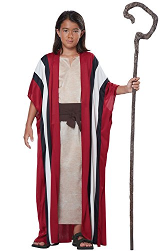 Biblical Shepherd Moses Child Costume L/XL -
