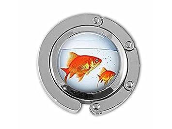 Colgador para pecera, color dorado, para acuario, pecera y peces ...