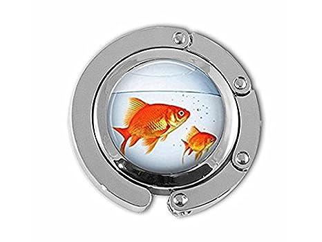 Colgador para pecera, color dorado, para acuario, pecera y peces dorados: Amazon.es: Juguetes y juegos