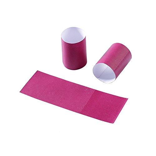 Gmark Paper Napkin Band Box of 2500 (Burgundy), Paper Napkin Rings self Adhesive GM1050