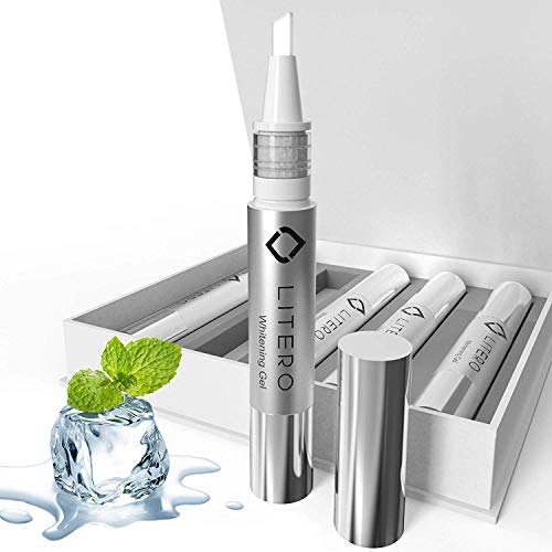(5-Pack) | Teeth Whitening Pen | (4ml) | No Sensitivity | 200+ Whitening Treatments | Best Refill | Teeth Whitening Kit | 35% Carbamide Peroxide