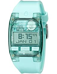 Nixon Mens A3362043 Comp S Digital Display Automatic Self Wind Blue Watch