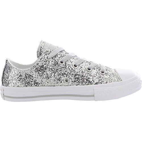 adulto Converse OX White CAN M7652 Pure AS unisex Silver Sneaker OPTIC a04a7q