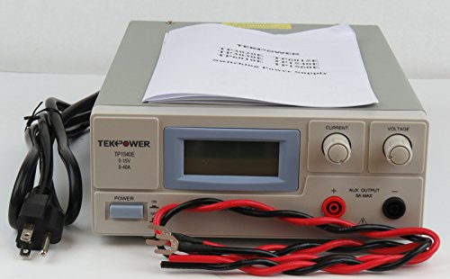 TekPower TP1540E DC Adjustable Switching Power Supply 15V 40A Digital Display by Tekpower (Image #4)