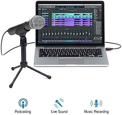 Samson Q2U Micro Dynamique - Paquete de grabación y podcasting de ...