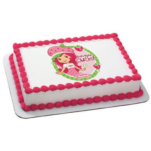 Strawberry Shortcake - Tutti Fruitti Edible Image Cake Topper Party Accessory]()