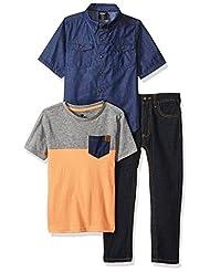 American Hawk Little Boys\' Short Sleeve Shirt, T-shirt and P...