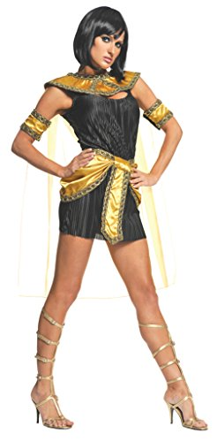 Sexy Egyptian Princess Costumes (Underwraps Womens Egyptian Sexy Cleopatra Nile Princess Fancy Halloween Costume, L (12-14))