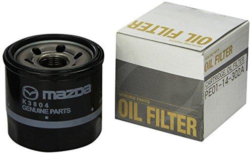 Genuine Mazda (1WPE-14-302) Oil Filter Cartridge - Mazda Oil Pump
