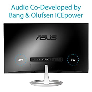 Asus Mx259h 25-inch, Full Hd 1920x1080 Ips, Audio By Bang & Olufsen Icepower Hdmi Vga Frameless Monitor 18