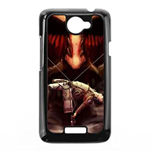 Attack On Titan HTC One X Cell Phone Case Black 218y-905230