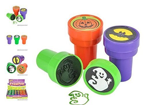 (24) 1.38 HALLOWEEN STAMPERS ~ GREAT PARTY FAVOR ~ by -