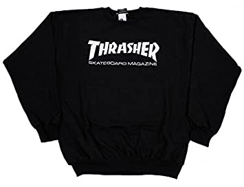 6f6b85b8d549 Image Unavailable. Image not available for. Colour: Thrasher Skateboard  Skate Mag Logo ...