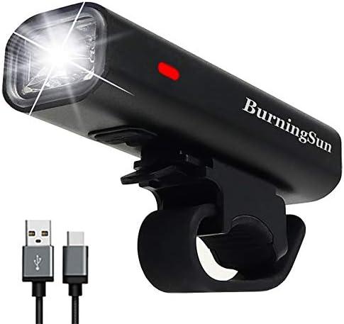 BurningSun Headlight Waterproof Rechargeable Flashlight