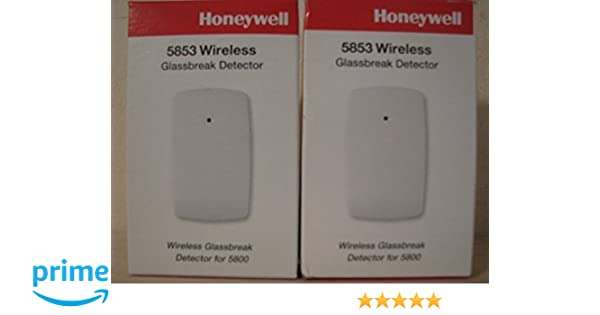 Amazon.com : Honeywell 5853 Wireless Glass Break Detector (2 pack) : Camera & Photo