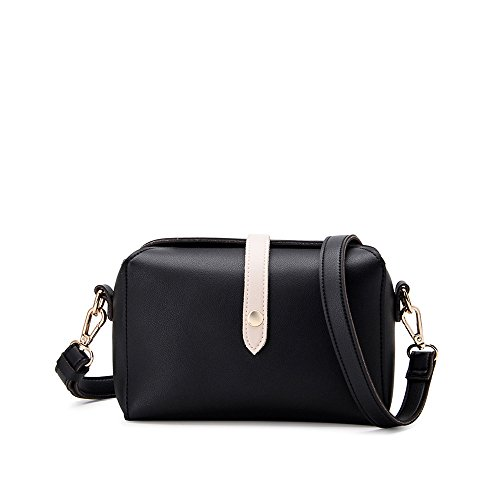Melie Bianco Dyanna Signature Duo Tone Crossbody W/ Removable Strap -