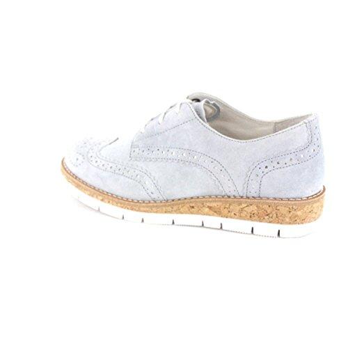 558 Gabor gris 62 de mujer Piel cordones para de Zapatos 36 g56xCwaq5